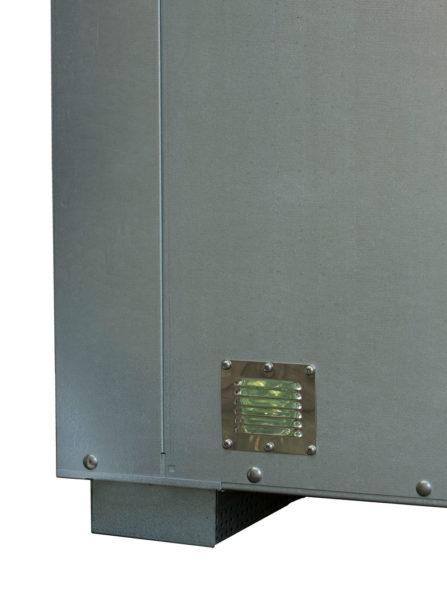 Utomhuscontainer Ventilationsöppningar