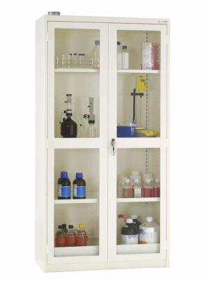 Miljöskåp med glasdörrar MF4MG