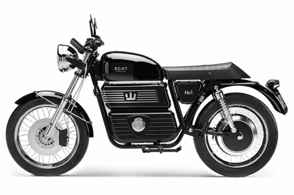 """El-motorcykel """"RGNT"""""""