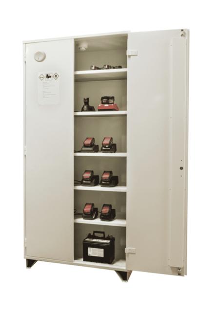 Brandisolerat batteriskåp BAT